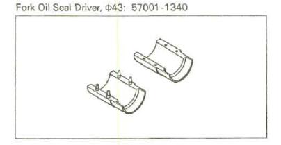 changement joint fourche klx 6037bf10