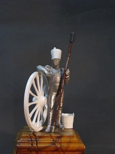 Canonnier de la Compagnie d'Artillerie régimentaire du 7éme Rgt., Royaume de Naples  Img_2314