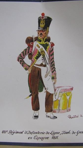 88° Régiment de Ligne, Tambour de Grenadiers, 1810 Img_2718