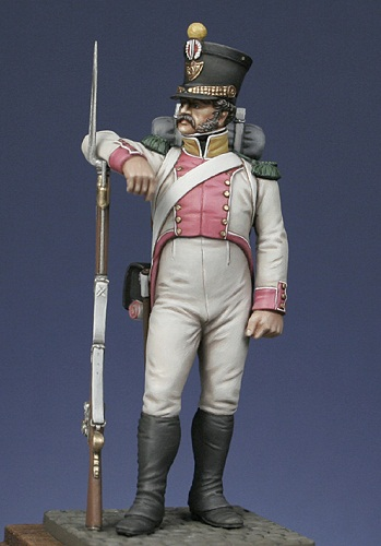 Canonnier de la Compagnie d'Artillerie régimentaire du 7éme Rgt., Royaume de Naples  Mm10