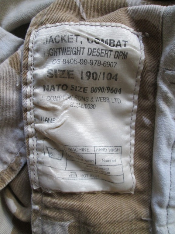 British Jacket lightweight-Gulf War. - Page 4 Modifi13