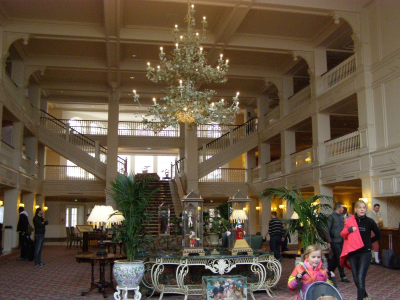 magnifique séjour Hôtel Disney du 31/01 au 02/02/14  P1310030