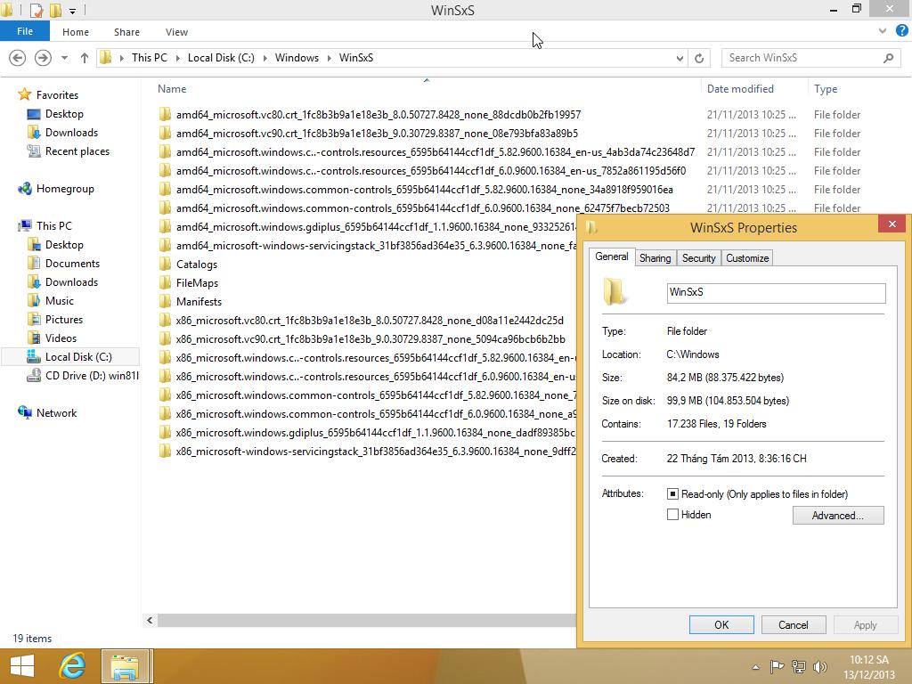 Optimizations - Windows WinSXS Files Cleanup (EXTREME) 32110
