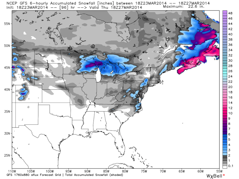 March 25th-26th Possible Coastal Storm Potential 2.0 - Page 19 Gfs_6h10