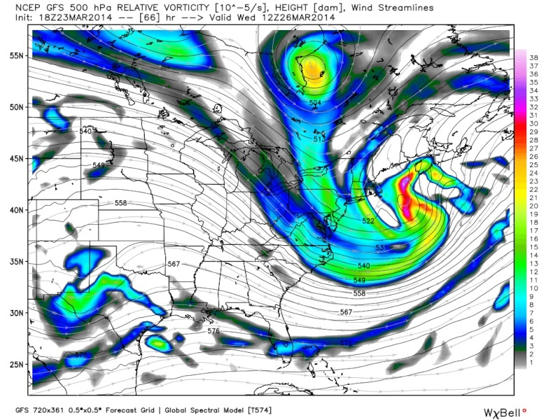March 25th-26th Possible Coastal Storm Potential 2.0 - Page 19 Gfs_z510
