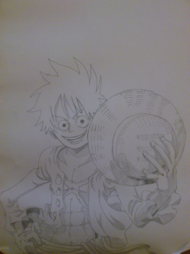 Some drawings of mine Luffy_10