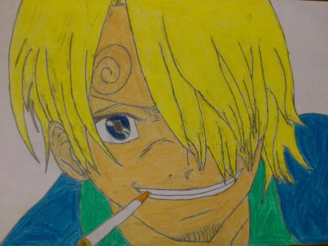 Some drawings of mine Sanji10