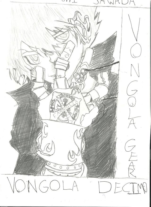 Some drawings of mine Tsuna_11