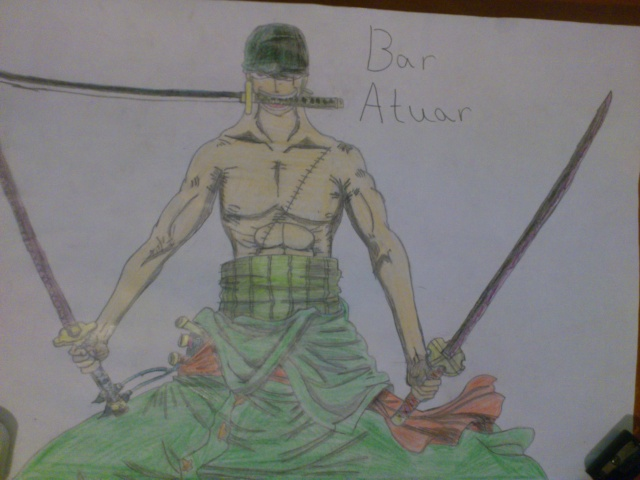 Some drawings of mine Zoro_t10