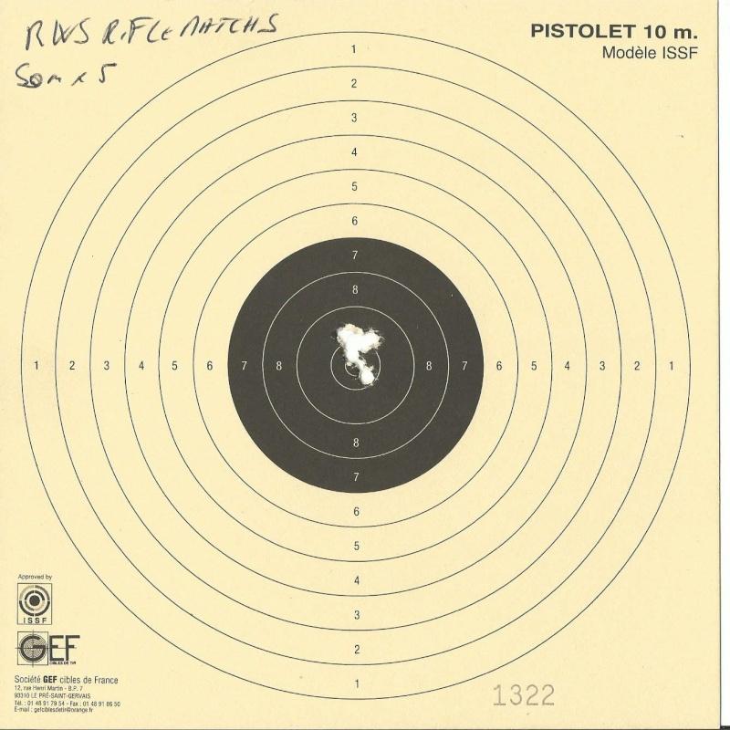 test de munitions 50m 22lr Rws_ri11