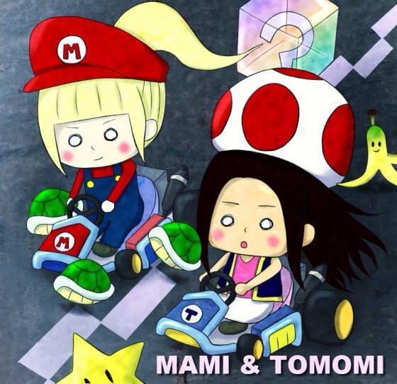 MAMI & TOMOMI fan art 18002110
