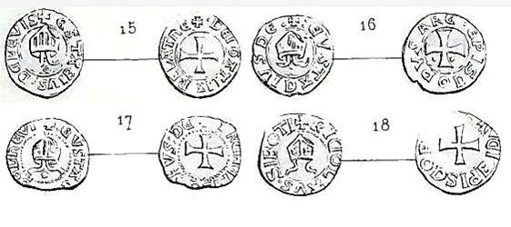ARLES: les monnaies de Eustache de Lévis Caron16