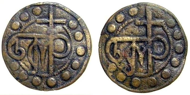 Méreau des évèques de Saint Jean d'Acre , orient latin Tesser11