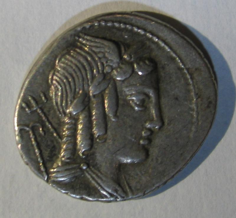 denier de Lucius Julius Burso 117