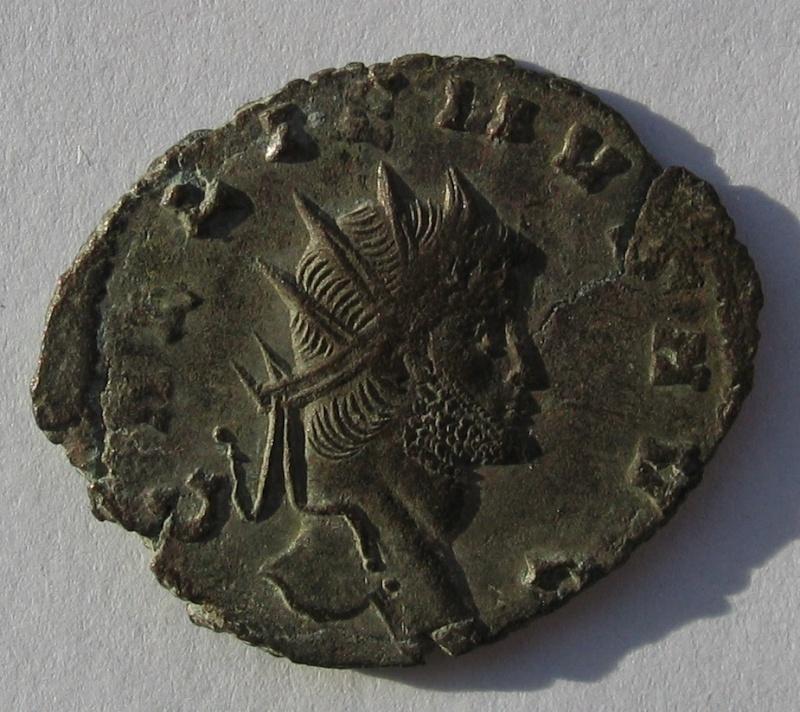 antoninien de Gallien  Rome  Emission du bestiaire panthere 161