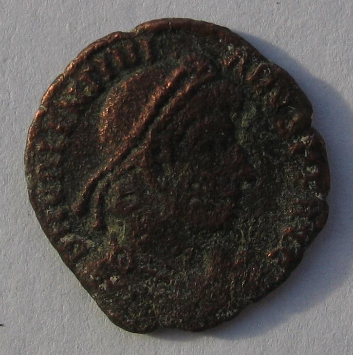 nummus de Valentinien Ier pour Aquilée 172
