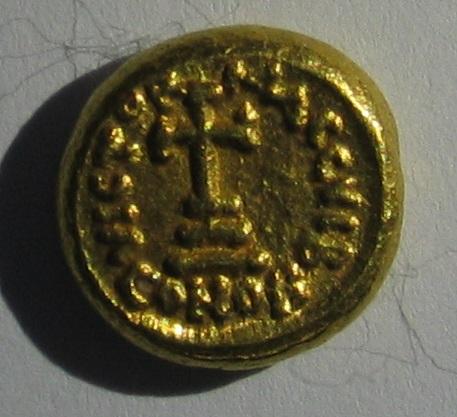 Solidus globule pour Carthage Heraclius Heraclius Constantin 211