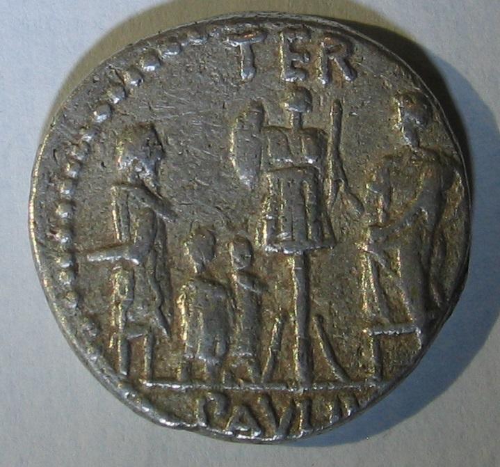 denier de Lucius Aemilius Lepidus Paullus 215