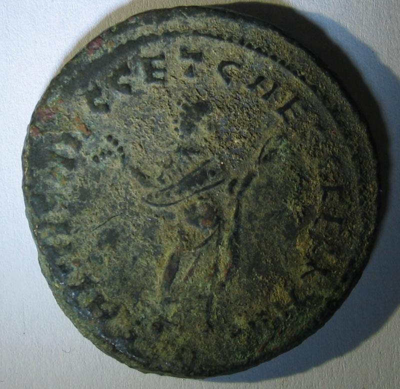 Follis de Maximien Hercule pour Carthage 230