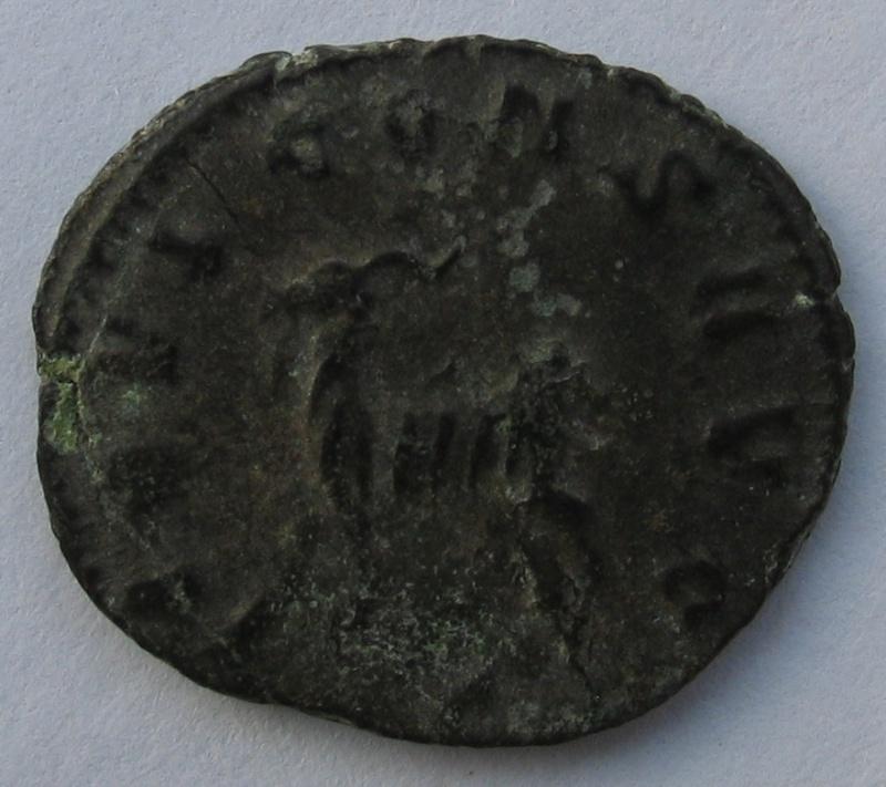 antoninien de Gallien émission du bestiaire - Rome - Chèvre 236