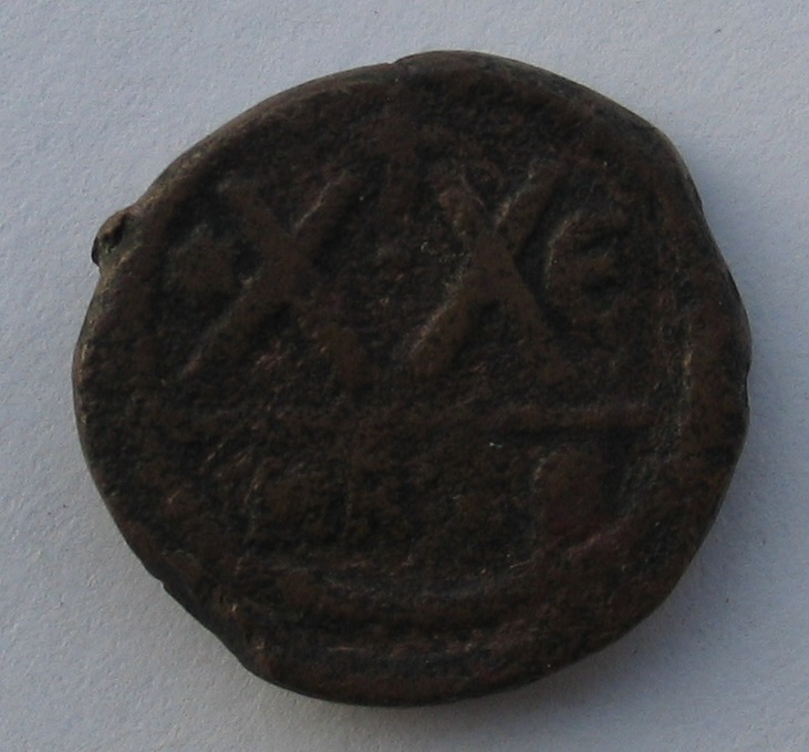 Demi-follis de Phocas (Carthage) 250