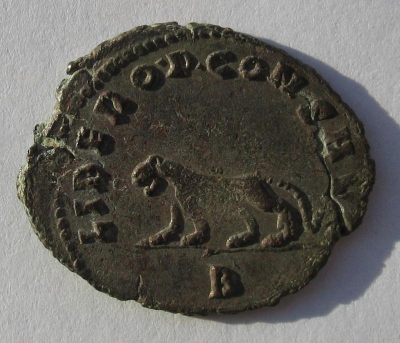 antoninien de Gallien  Rome  Emission du bestiaire panthere 260