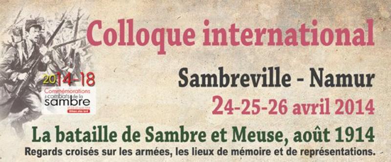Colloque bataille de Sambre et Meuse Invita10