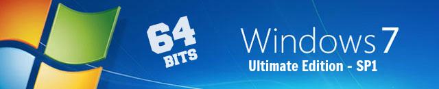 Windows 7 SP1 - Ultimate - 64bits X6410