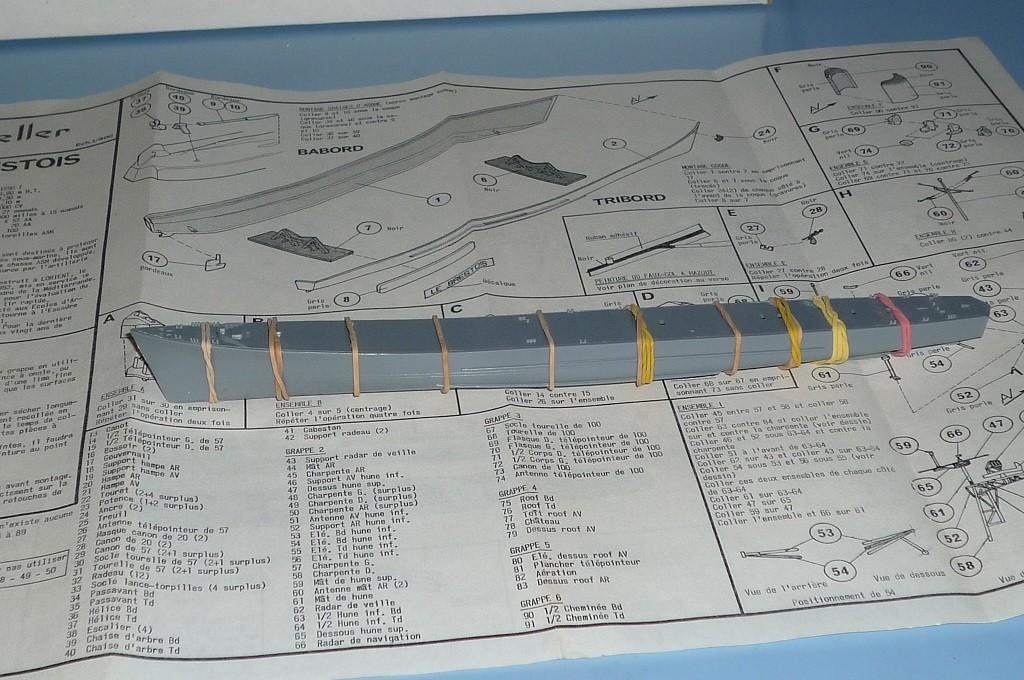 Escorteur rapide LE BRESTOIS au 1/400 Heller- L'Arsenal Photos11