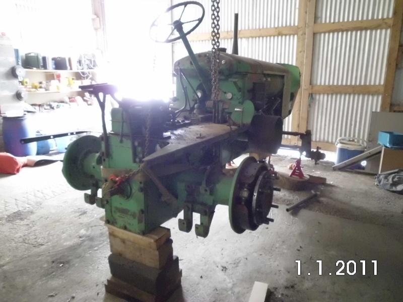 Photo de la restauration de mon DEUTZ F4L514 ( un vrai plaisir de rouler avec un tracteur pareil!!) Dsci0311