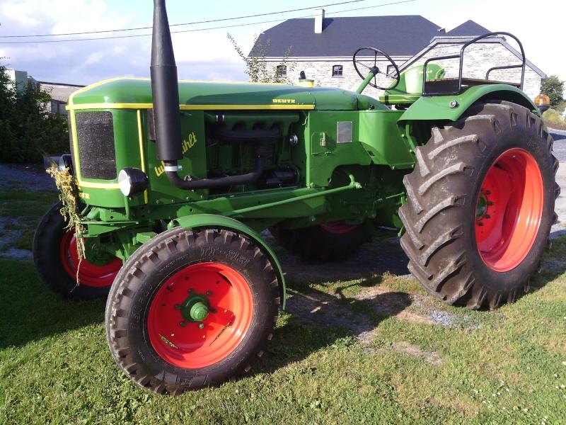 Photo de la restauration de mon DEUTZ F4L514 ( un vrai plaisir de rouler avec un tracteur pareil!!) Img_2011