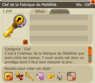 Quêtes Enutrosor : Fabrique Mallefisk - Dimension Enutrof 1 >> Donjon<< Recett10