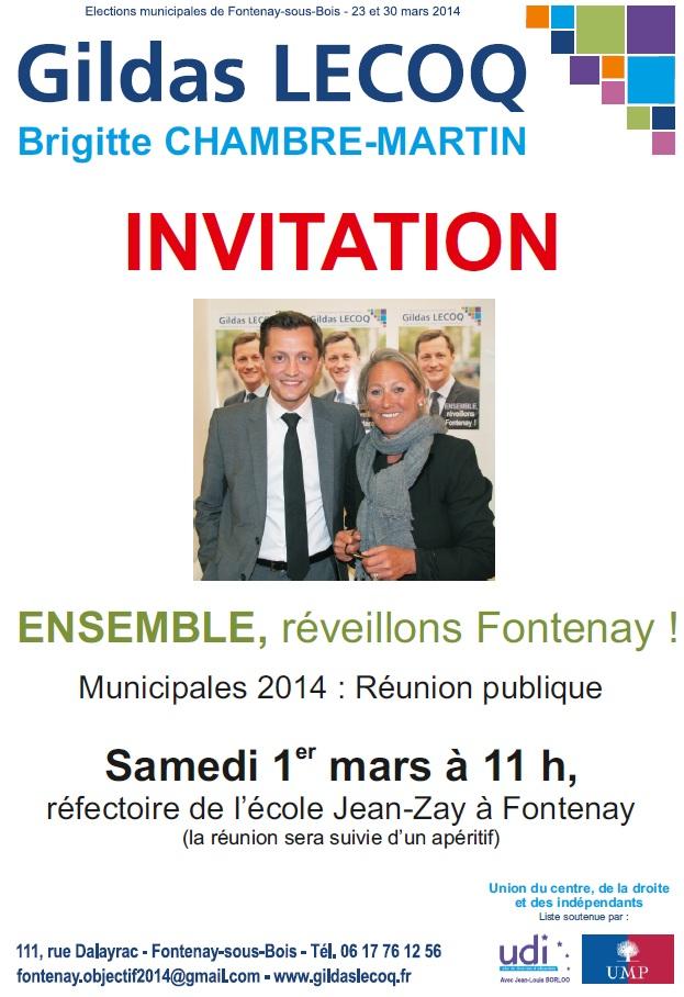 Réunion publique samedi 1er mars ENSEMBLE, réveillons Fontenay ! Reunio10