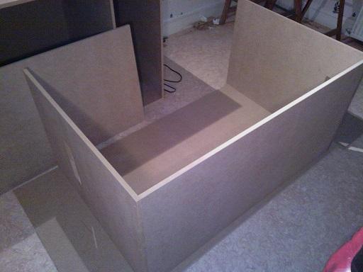 """""""  A vendre   """" Construction d'un terrarium + son meuble en MDF pour pogona henrylawsoni """" projet achevé  ! """" 2_terr10"""