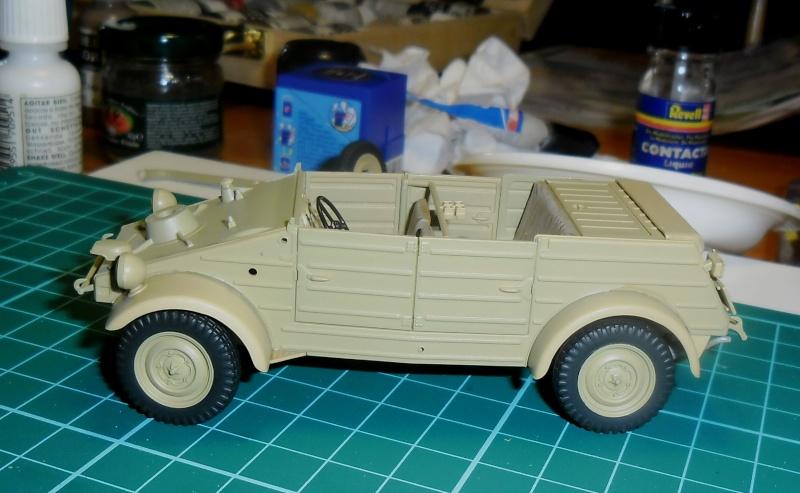 Kübelwagen Type 82 Tamiya  Leichte Div. Italy 43 1/35 Fini 07030012