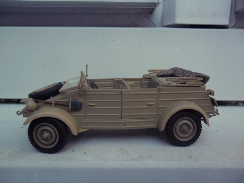 Kübelwagen Type 82 Tamiya  Leichte Div. Italy 43 1/35 Fini 10030010