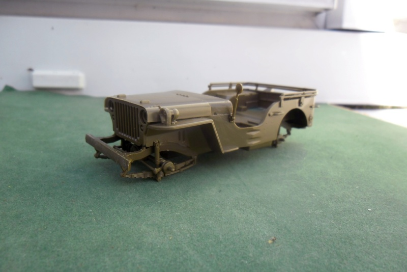 Willys Jeep Italeri épave 1/35 (Finie) 19050011
