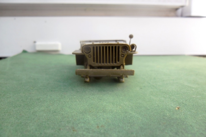 Willys Jeep Italeri épave 1/35 (Finie) 19050012