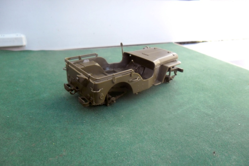 Willys Jeep Italeri épave 1/35 (Finie) 19050013