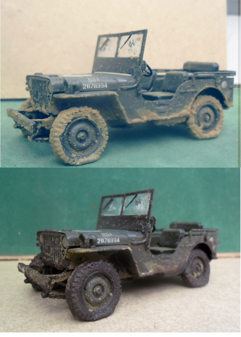 Willys Jeep Italeri épave 1/35 (Finie) - Page 3 Avanta10