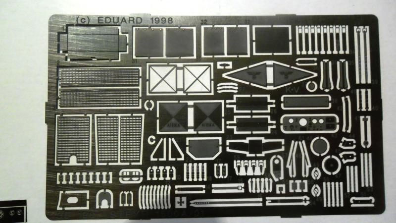 Steyr Typ 1500A/01 Tamiya 1/35 + Photodecoupe Eduard Eduard10