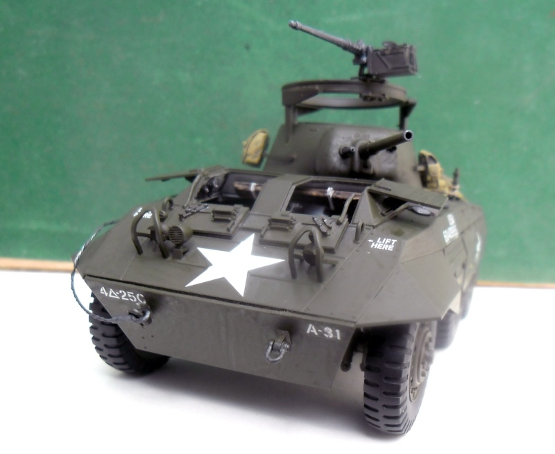 M8 Greyhound Tamiya 1/35 + kit verlinden (fini 98%) - Page 8 Fin00311