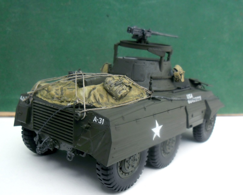 M8 Greyhound Tamiya 1/35 + kit verlinden (fini 98%) - Page 8 Fin00611