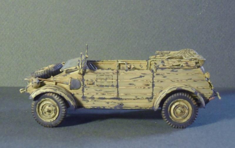 Kübelwagen Type 82 Tamiya  Leichte Div. Italy 43 Finale15