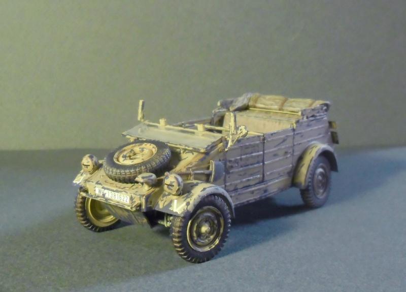 Kübelwagen Type 82 Tamiya  Leichte Div. Italy 43 Finale19