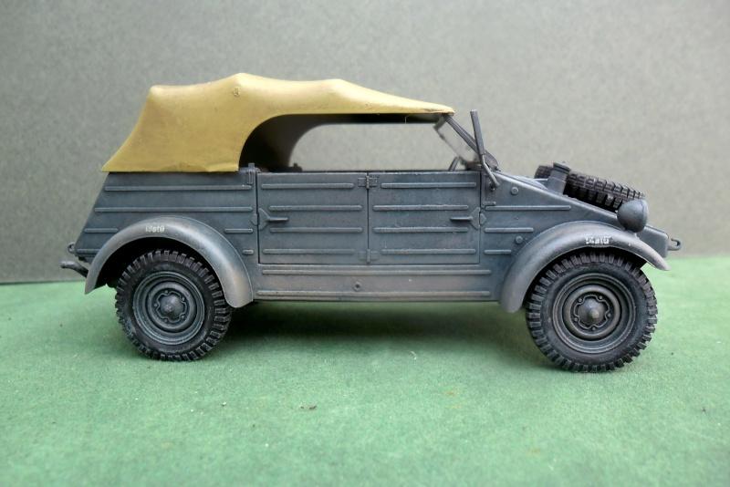 """Kübelwagen Type 82 Hasegawa 1/35¨""""Grossdeutchland"""" Finie015"""