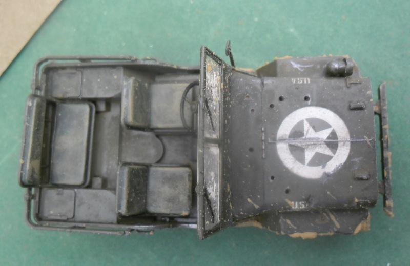 Willys Jeep Italeri épave 1/35 (Finie) - Page 3 Finie_12