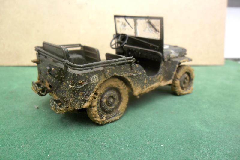 Willys Jeep Italeri épave 1/35 (Finie) - Page 3 Finie_13