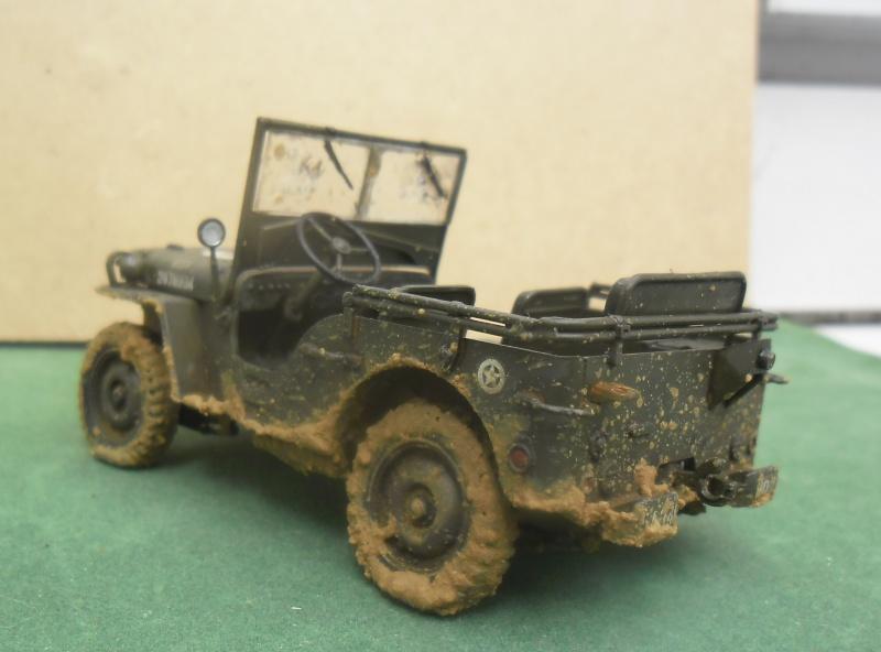 Willys Jeep Italeri épave 1/35 (Finie) - Page 3 Finie_14