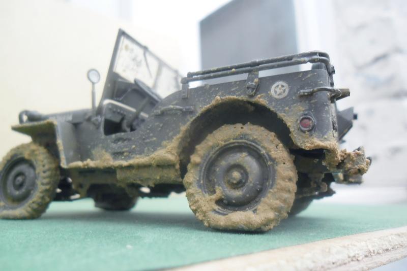 Willys Jeep Italeri épave 1/35 (Finie) - Page 3 Finie_17